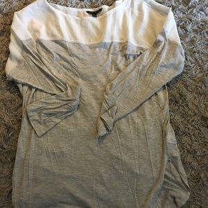 Banana Republic sheer shirt